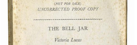 Sylvia Plath's Bell Jar proof edition to make up to $4,500?