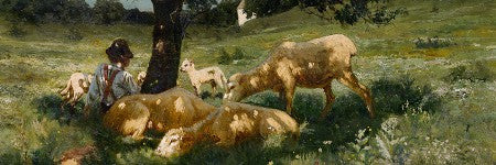 Henry Ossawa Tanner's Boy and Sheep to make $300,000?