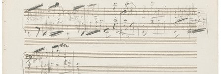 Tchaikovsky's Orchestral Suite manuscript to sell at Sotheby's