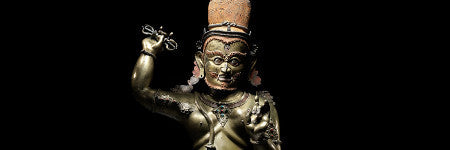 Famous Tibetan bronze sculpture sets world record