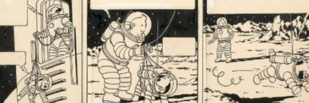 Herge's Tintin Explorers artwork makes $1.6m