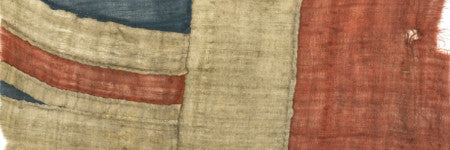 Battle of Trafalgar flag fragment to make $133,500