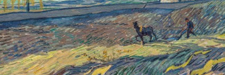 Vincent van Gogh's Laboureur sells for $81.3m