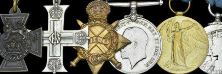 Somme hero's Victoria Cross headlines medal sale
