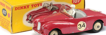 Mike Reason toy cars to auction on September 17