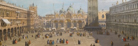 Two paintings by Canaletto to sell with a $19m estimate