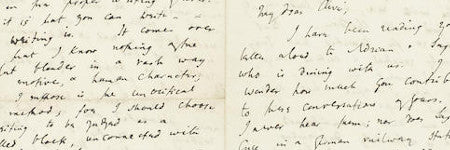Virginia Woolf 1908 letter expected to sell for up to $15,000
