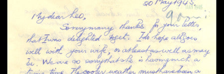 Bouncing bomb inventor letters to sell at IAA