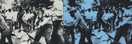 andy warhol race riot