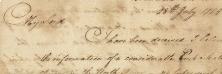George Washington handwritten letter to make $40,000?