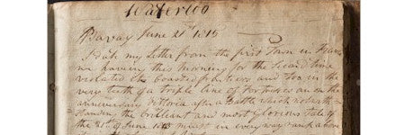 Battle of Waterloo letters to sell for $55,000?