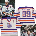 Gretzky game-worn jersey auctions for $298,000