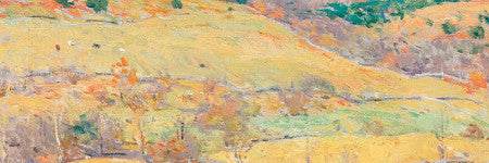 Willard Metcalfe's Mountain Pastures will auction on October 2