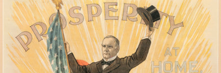 1900 William McKinley poster valued at $20,000