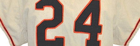 1957 Willie Mays jersey realises $222,000