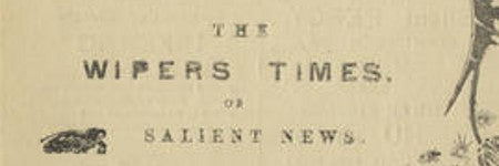 The Wipers Times complete set realises $13,000 in first world war auction
