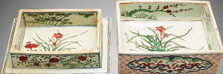 Chinese Wucai porcelain box realises 2,950% increase on estimate