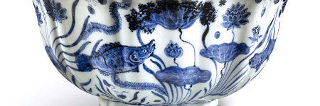 Xuande blue fish bowl will auction in April