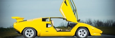 Incredibly rare Lamborghini Countach 400S to sell at Silverstone Auctions