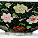 Black-ground famille-rose bowl to highlight Alfred Beit Chinese ceramics sale