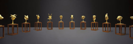 Ai Weiwei's Zodiac Heads offered in New York