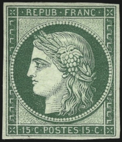 1849 Ceres Issue 15 centime