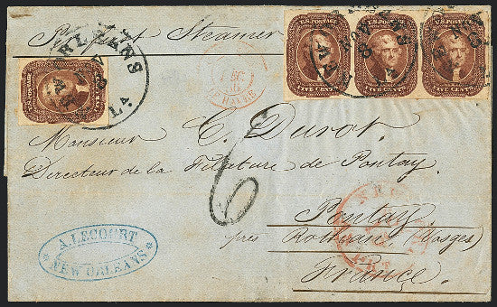 1856 stamps Siegel