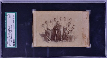 1865 Brooklyn Atlantics baseball card