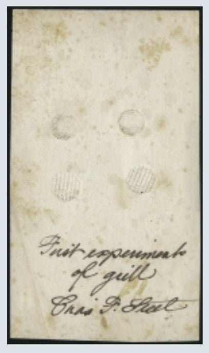 1867 Grilled issue National Bank note Charles Steel essay wove paper