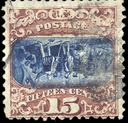 1869 US invert error stamp