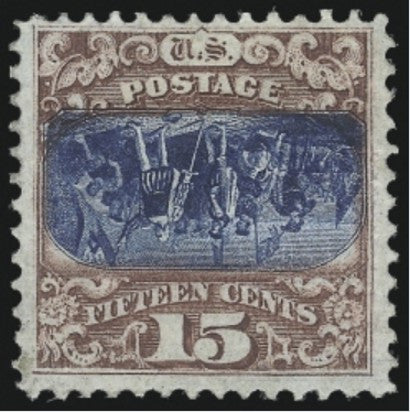 1869 Pictorial Issue 15c Invert Stamp