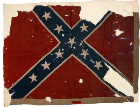 18th Army Corps captured Confederate Flag