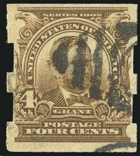 1908 imperforate issue