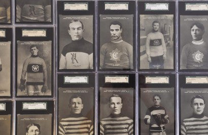 1910 Sweet Caporal hockey cards