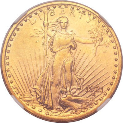 1921 Saint-Gaundens Double Eagle $20