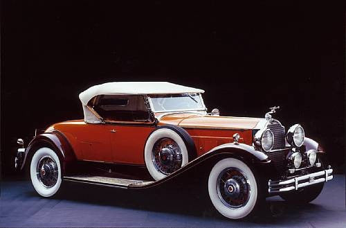 1931 Packard Deluxe Eight 840 Roadster