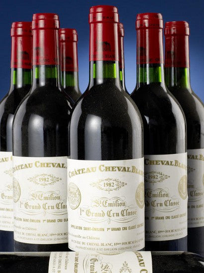 1982 Chateau Cheval Blanc auction