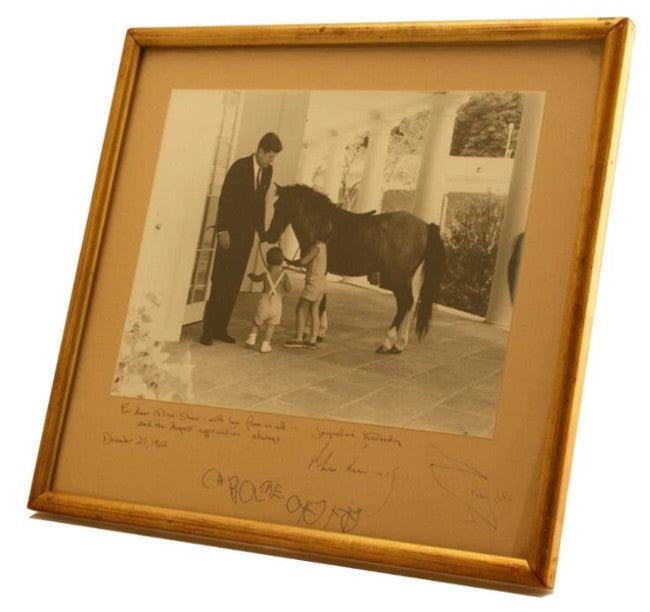 JFK signed photo