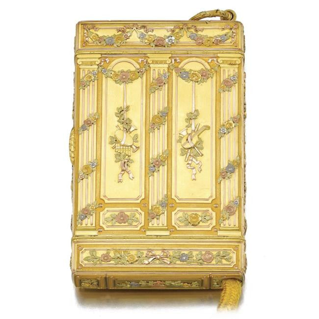 Romanov 25th Wedding Anniversary Cigarette Case Russian gold jewellery