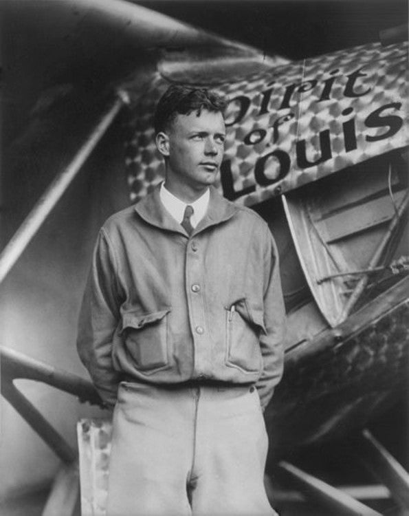 Charles Lindbergh autograph