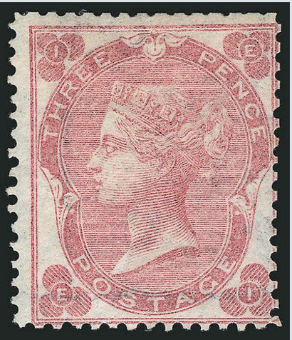 3p rose 1862 Siegel