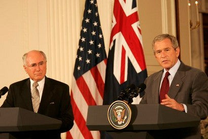 John Howard & Bush