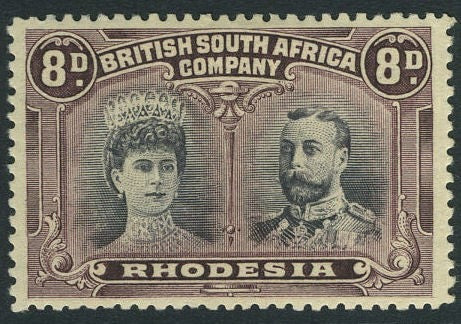 8d Rhodesian British South Africa Company