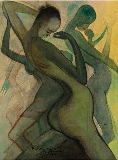 Africa Dances, Eve Noi', 1972, by Ben Enwonwu