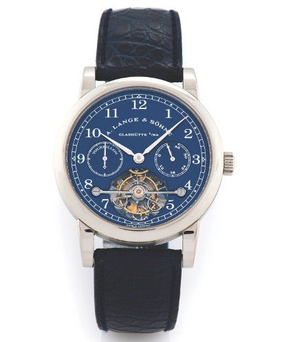 A Lange watch auction record