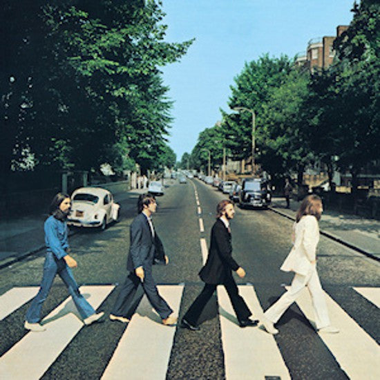 Beatles Abbey Road cover photo