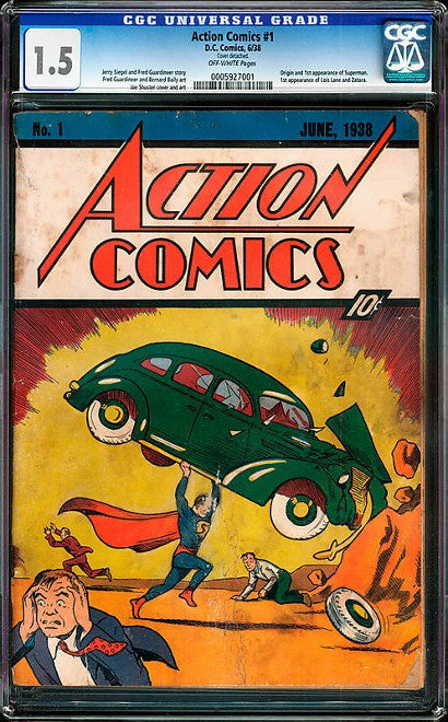 Action Comics #1 wall found