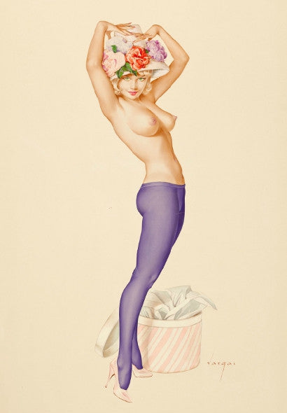 Alberto Vargas Darling Its My Hat I Want Your Opinion On