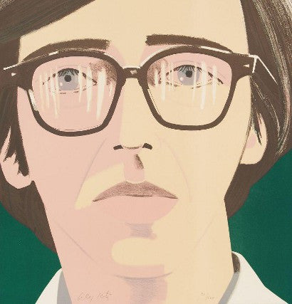 Alex Katz's Portrait of a Poet Kenneth Koch