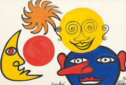 Alexander Calder Works on Paper Sothebys